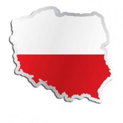Länderaufkleber Poland
