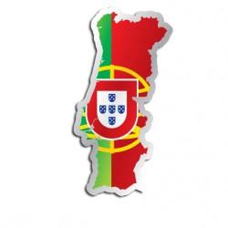 Länderaufkleber Portugal