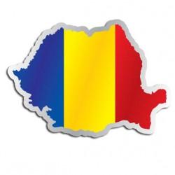 Länderaufkleber Rumänien