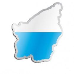 Länderaufkleber San Marino