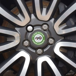Nabendeckel Aufkleber geeignet für Land Rover Freelander