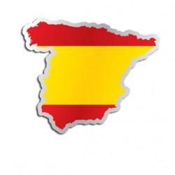 Länderaufkleber Spanien