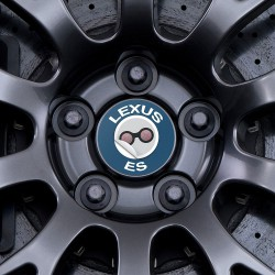 Nabendeckel Aufkleber Lexus ES