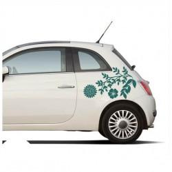 Blumenstrauß Autoaufkleber