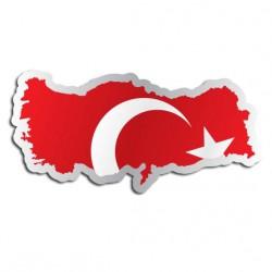 Länderaufkleber Türkei