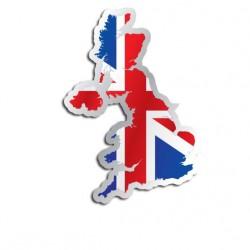 Länderaufkleber Großbritannien