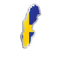 Länderaufkleber Schweden