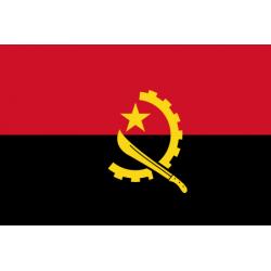 Angola Flagge