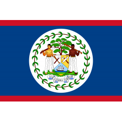 Belize Flagge
