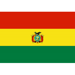 Bolivien_ (Staat) Flagge