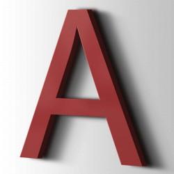 Acrylbuchstaben A Arial 3001 Signalrot