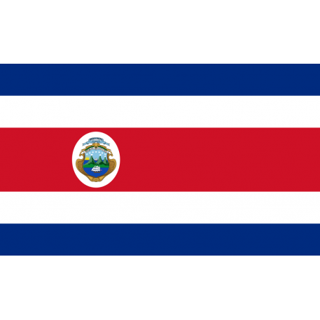 Costa_Rica_ (Staat) Flagge