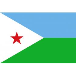 Dschibuti Flagge