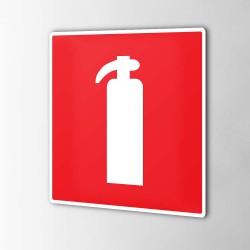 Feuerlöscher-Feuerschutz Aufkleber