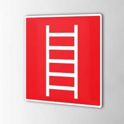 Leiter Feuerschutz Aufkleber