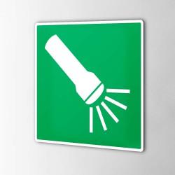 Taschenlampe Aufkleber