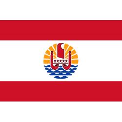 Französisch-Polynesien Flagge