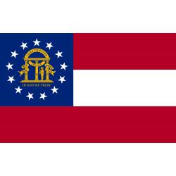 Georgien Flagge