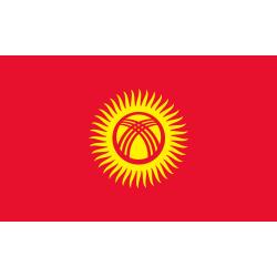 Kirgisistan Flagge