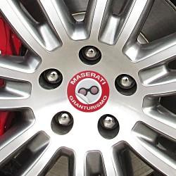 Nabendeckel Aufkleber Maserati Granturismo