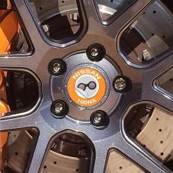 Nabendeckel Aufkleber Nissan 100NX