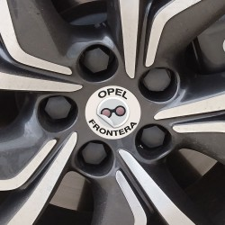 Nabendeckel Aufkleber Opel Frontera