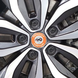 Nabendeckel Aufkleber Renault Captur