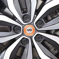 Nabendeckel Aufkleber Renault Scenic