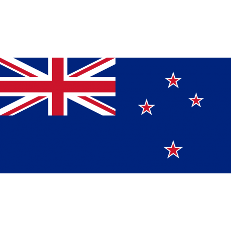 Flaggenaufkleber Neuseeland