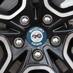 Nabendeckel Aufkleber Suzuki Ignis