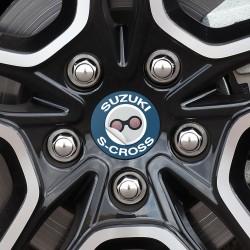 Nabendeckel Aufkleber Suzuki S-Cross