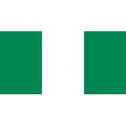 Nigeria Flagge