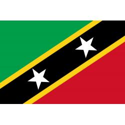 Saint Kitts und Nevis Flagge