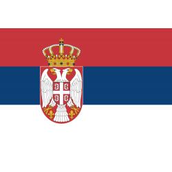 SerbienFlagge