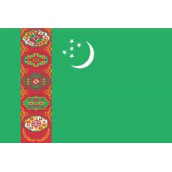 Turkmenien Flagge