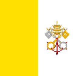 Vatikan Stadt Flagge