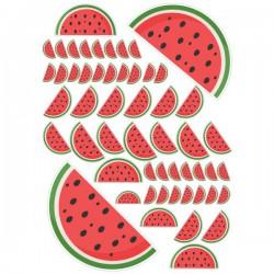 Wassermelone Fahrrad aufkleber