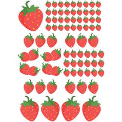 Erdbeeren Fahrrad aufkleber