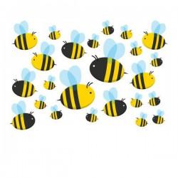 Bienen Fahrrad aufkleber