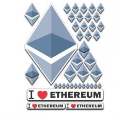 Ethereum Aufkleber