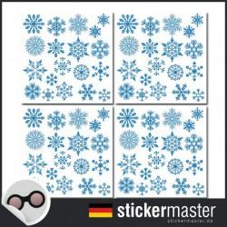 Fliesenaufkleber Schneeflocken