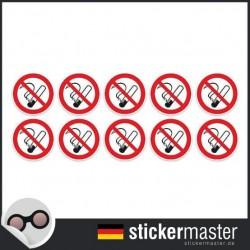 Nichtraucheraufkleber Typ 3