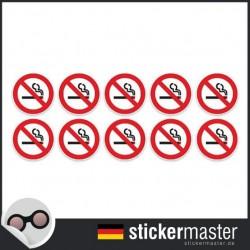 Nichtraucheraufkleber Typ 4