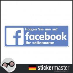 Facebook Sticker Eigener Firmenname