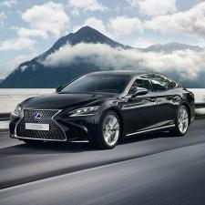 Lexus Nabendeckel Aufkleber