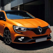 Renault Nabendeckel Aufkleber