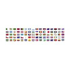 Flaggen aufkleber